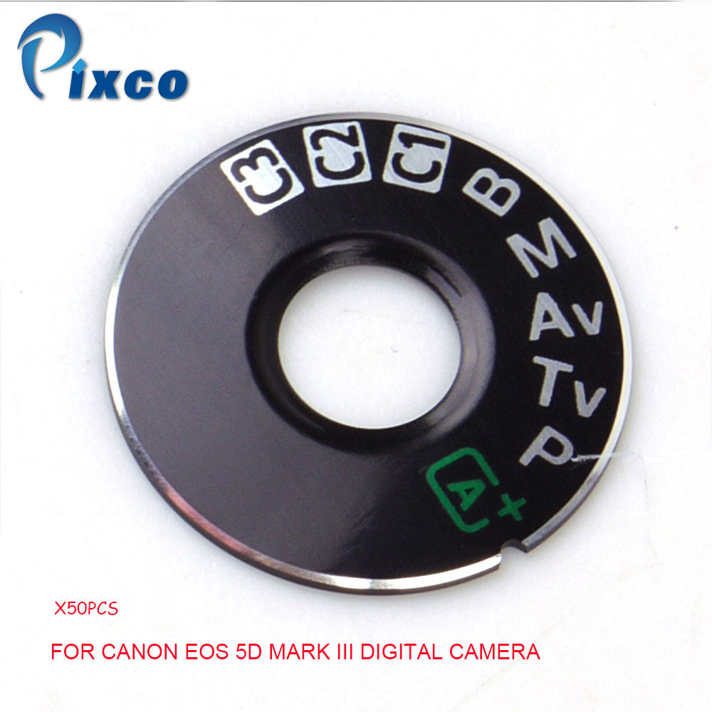 Photo Studio kits Dial Mode Plate Interface Cap Replacement Part suit For Canon 5D Mark III Digital Camera
