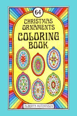 64 Christmas Ornaments Coloring Book