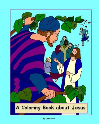 A Coloring Book about Jesus