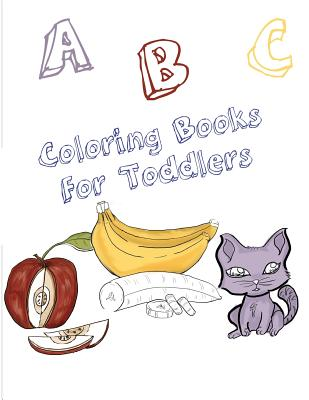 ABC Coloring Books for Toddlers