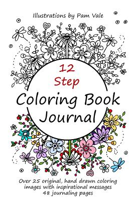 12 Step Coloring Book Journal