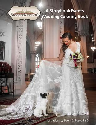 A Storybook Event Wedding Coloring Book: Big Kids Coloring Books: A Storybook Event Wedding Coloring Book