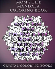 Moms Life Mandala Coloring Book 20 Relatable Pages