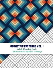 Geometric Patterns - Adult Coloring Book Vol. 1 - Inkcartel