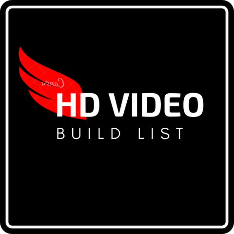 BUILD LIST - HD-VIDEO DRONE