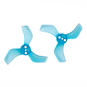 Gemfan 40mm 3-Blade 1635-3 Push-on Propeller 1.5mm Shaft 8 Pcs for 80mm Whoops