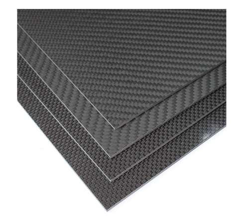 Carbon Fiber Sheets 3K Ultra-light 200x300mm (Gloss/Matt and Plain/Twill)