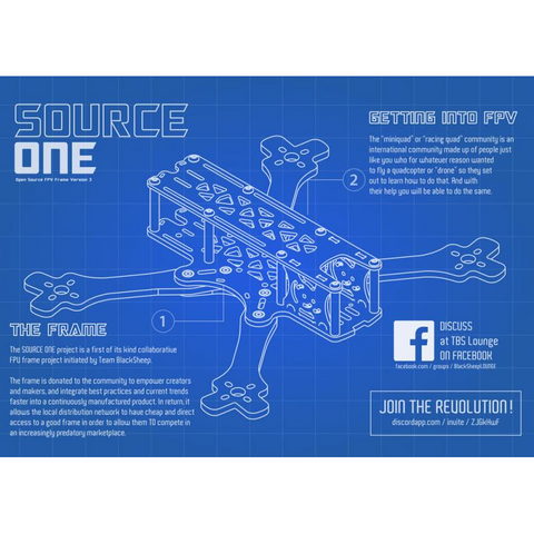 TBS Source ONE Frame V3