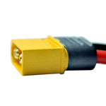 XT60H Male Connector W/ 12 AWG Silicone Wire 12cm