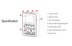ISDT C4 8A Touch Screen Smart Battery Charger