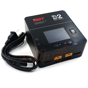 ISDT D2 200W 24A AC Dual Channel Smart Battery Balance Charger