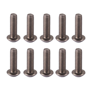 M3 Titanium Hex Screw Pack x10