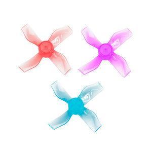 Gemfan 31mm 3-Blade 1220-4 Push-on Propeller 0.8mm Shaft 8 Pcs