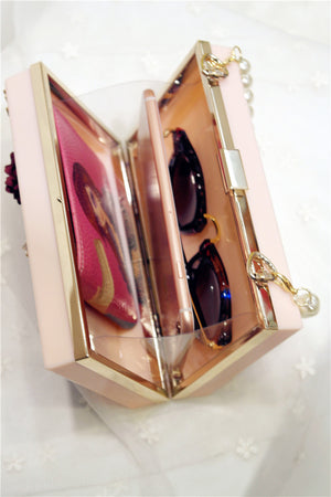 Women Transparent Luxury Evening Bags!