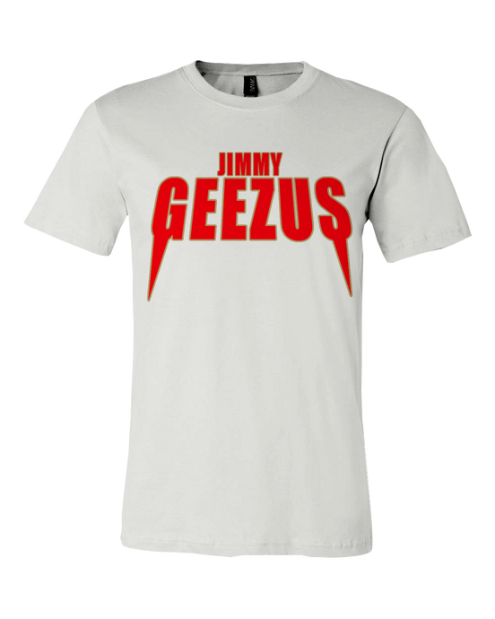 Jimmy Geezus Tee - White *SOLD OUT*
