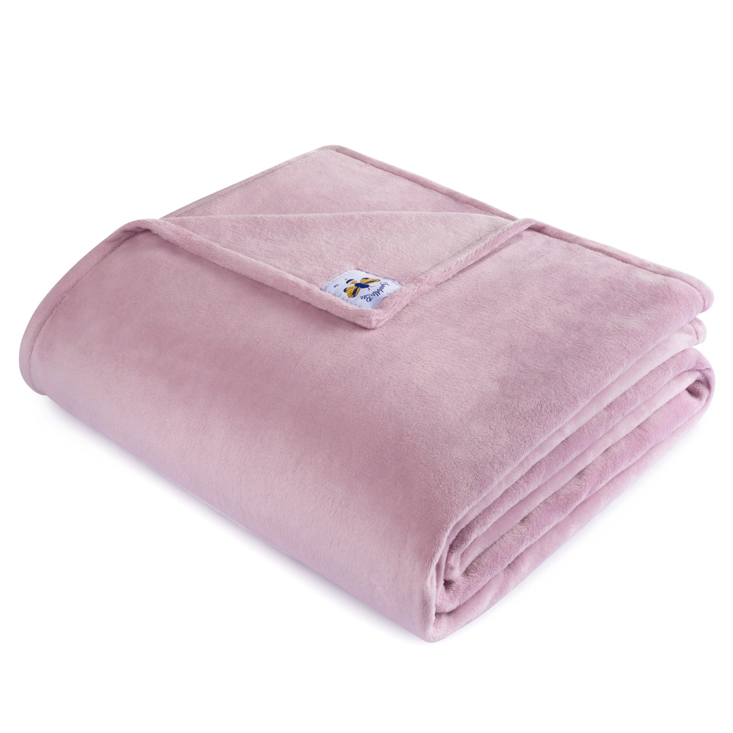 PRE ORDER BiggerBee Minky Throw Blanket Dusty Lavender (ARRIVES IN 1.5 WEEKS APPROX)