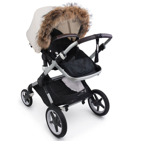 Luxury Stroller Fur Canopy Attachmanet ** WILL RESTOCK FOR WINER **