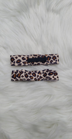 Sample Sale **Leopard Print Bow** (not headband)