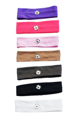 **Pompom Headbands** (Elastic & Detachable Pom) (PLEASE REMOVE LOGO IN BACK )