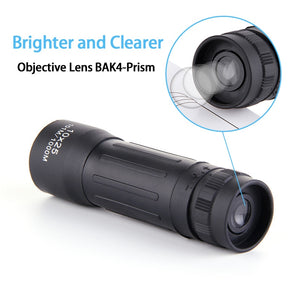 Monocular Telescope Portable For Hunting Camping Rifle