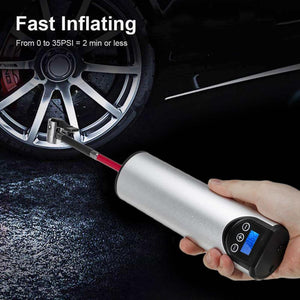 Tire Inflator - Tire Air Pump for Cars