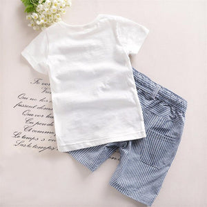 Set T-Shirt+Pants Cotton Summer Boys