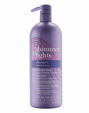 Clairol Shimmer Lights Shampoo Blonde & Silver 31.5 oz