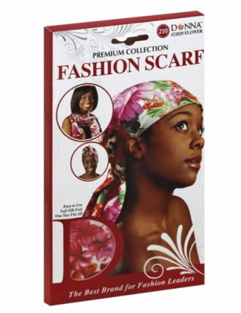 DONNA FASHION SCARF FLOWER - Melanin Beauty Suppliers
