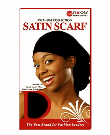 DONNA LARGE SATIN SCARF11066 - Melanin Beauty Suppliers