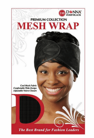 DONNA ASSORTED MESH WRAP 11029 - Melanin Beauty Suppliers