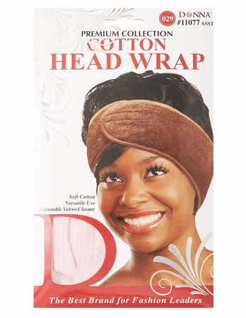 DONNA COTTON HEAD BAND ASSORTED - Melanin Beauty Suppliers