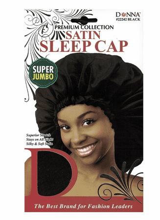 Donna Satin Sleep Cap Sup Jumbo
