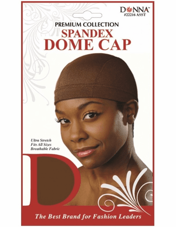 DONNA SPANDEX DOME WIG CAP - Melanin Beauty Suppliers