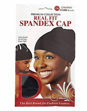 DONNA SPANDEX WOMEN'S CAP SK - Melanin Beauty Suppliers