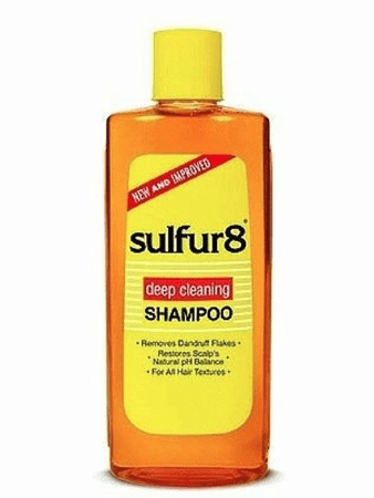 Sulfur 8 Deep Cleaning Shampoo 7.5 oz - Melanin Beauty Suppliers