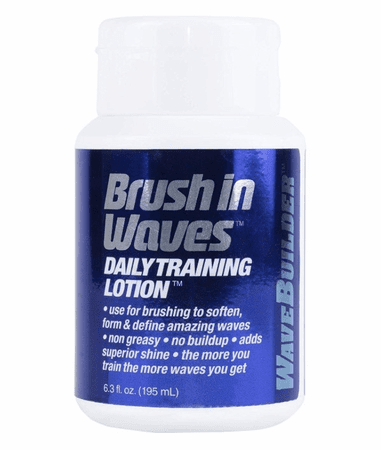 Wave Builder Brush In Waves Training Lotion 7 oz - Melanin Beauty Suppliers