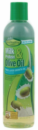 Sofnfree Milk Protein & Olive Oil Three Layer Growth Oil 8 oz - Melanin Beauty Suppliers