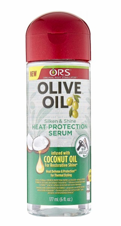ORS Olive Oil Heat Protection Serum 6 oz - Melanin Beauty Suppliers