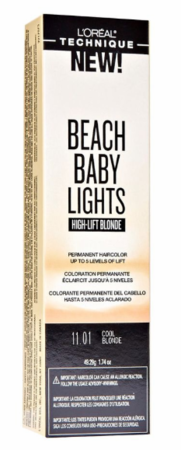 L'Oreal Beach Baby Lights High Lift Blonde Permanent Hair Color Cool Blonde 11.01