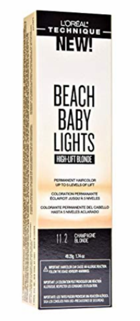 L'Oreal Beach Baby Lights High Lift Blonde Permanent Hair Color Champagne Blonde 11.2