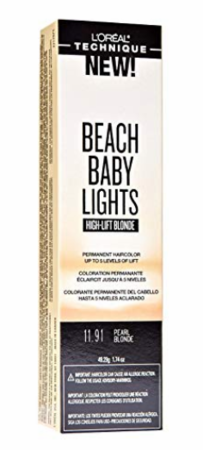 L'Oreal Beach Baby Lights High Lift Blonde Permanent Hair Color Pearl Blonde 11.91