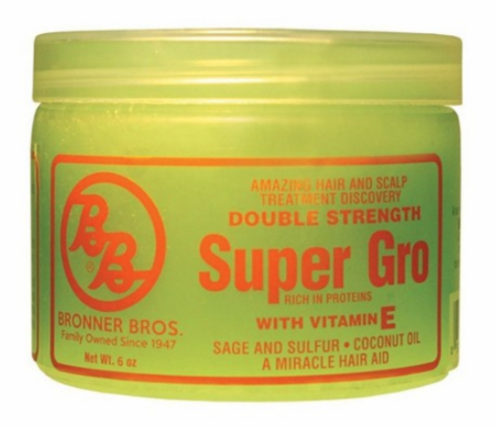 Bronner Brothers Double Strength Super Gro with Vitamin E 6 oz - Melanin Beauty Suppliers