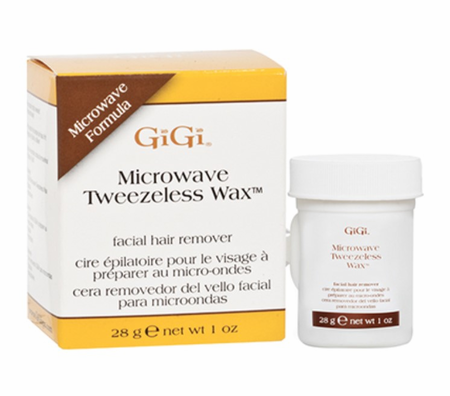 Gigi Microwave Tweezeless Wax 1 oz - Melanin Beauty Suppliers