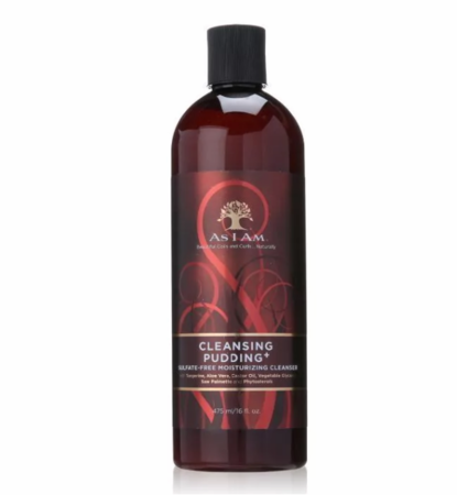 As I Am Cleansing Pudding Sulfate Free Moisturizing Cleanser 16 oz - Melanin Beauty Suppliers