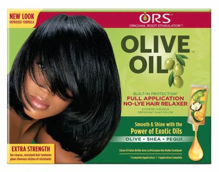 ORS Olive Oil No Lye Relaxer Extra Strength 1 Application - Melanin Beauty Suppliers