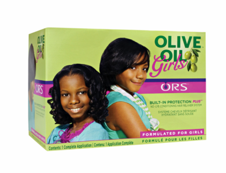 ORS Olive Oil Girls No Lye Conditioning Hair Relaxer System - Melanin Beauty Suppliers