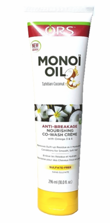 ORS Monoi Oil Nourishing Co wash Creme 10 oz - Melanin Beauty Suppliers