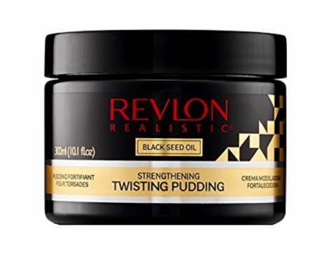 Revlon Realistic Black Seed Oil Strengthening Twisting Pudding 10.1oz - Melanin Beauty Suppliers