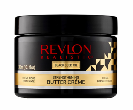 Revlon Realistic Black Seed Oil Strengthening Butter Creme 10.1oz - Melanin Beauty Suppliers