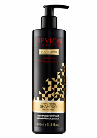 Revlon Realistic Black Seed Oil Strengthening Shampoo 11.5oz - Melanin Beauty Suppliers